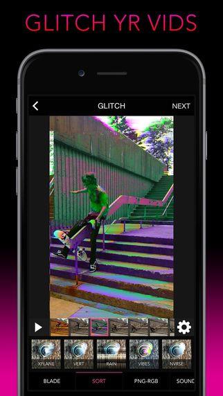 Glitch Wizard - Distort Photos to Trippy GIFs Allan Lavell 사진 변환 3D 셀로판 필터