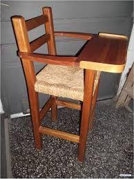 Resultado de imagem para silla de comer de madera para bebe