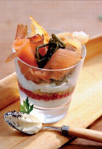Recettes de verrine : Verrines salées, sucrées