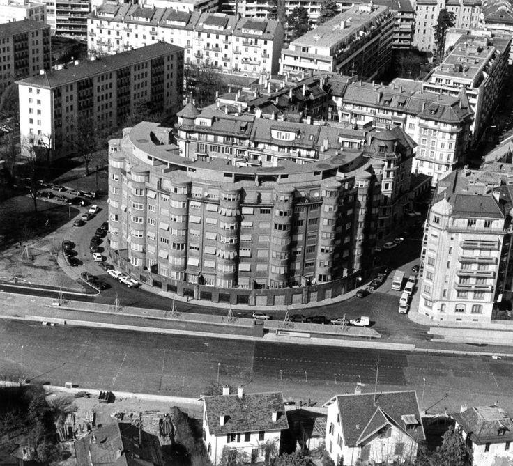 Braillard maurice maison ronde gen ve rue charles - Maison campagne suisse fovea architects ...
