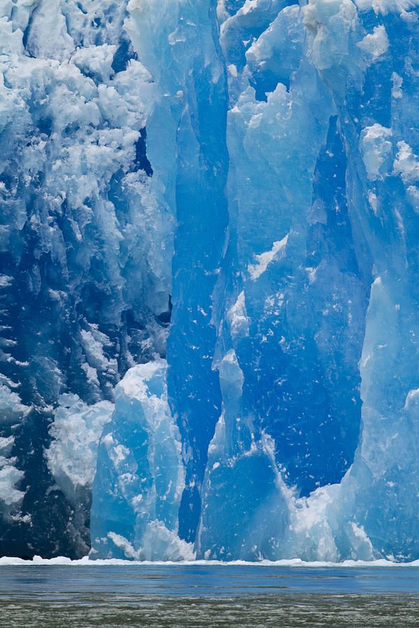 Glaciar en Laguna San Rafael, Chile.