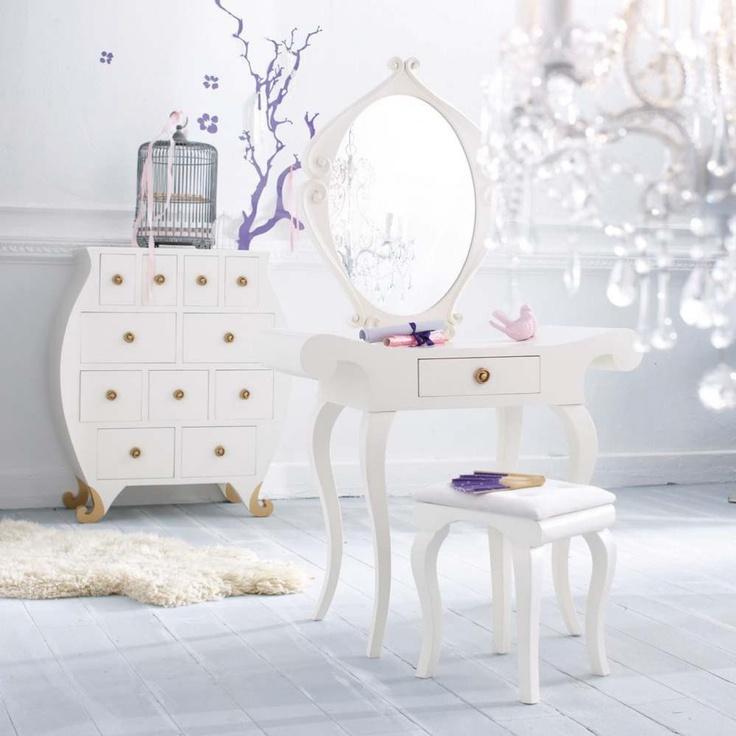 17 meilleures id es propos de coiffeuse baroque sur pinterest deco chambre romantique - Chambre petite fille maison du monde ...