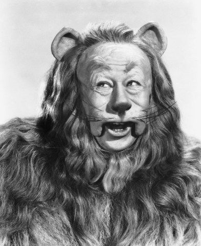 TIME MAGAZINE ~ Publicity photos from THE WIZARD OF OZ (1939). Pictured here: Bert Lahr as The Cowardly Lion. [Click for article and photo gallery]