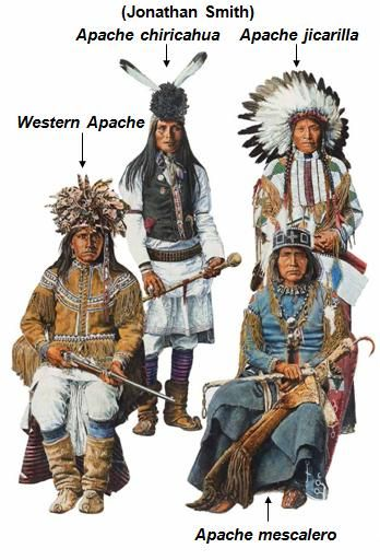 Apache chiricahua, apache jicarilla, Western Apache, apache mescalero (Jonathan Smith)