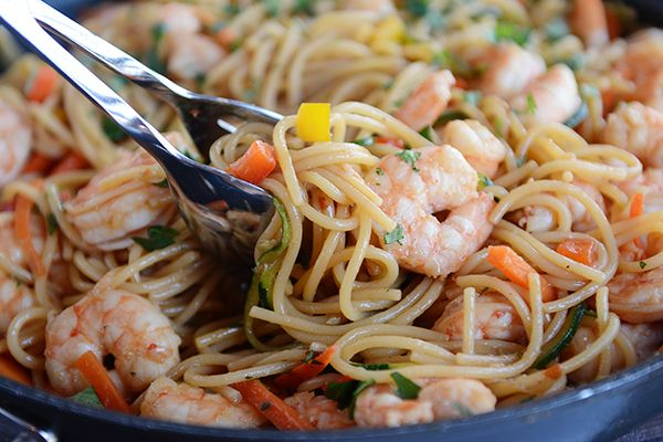 30-Minute Asian Garlic Noodles    Mel's Kitchen Cafe