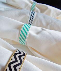 Napkin holder dye