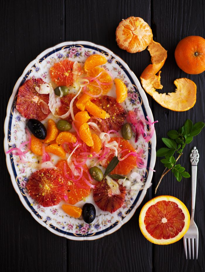 Golubka: Blood Orange and Fennel Salad