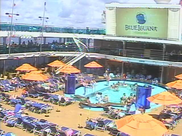 Carnival Dream Deck Aft Webcam Camera Lanes Cruise - Cruise ship web cameras