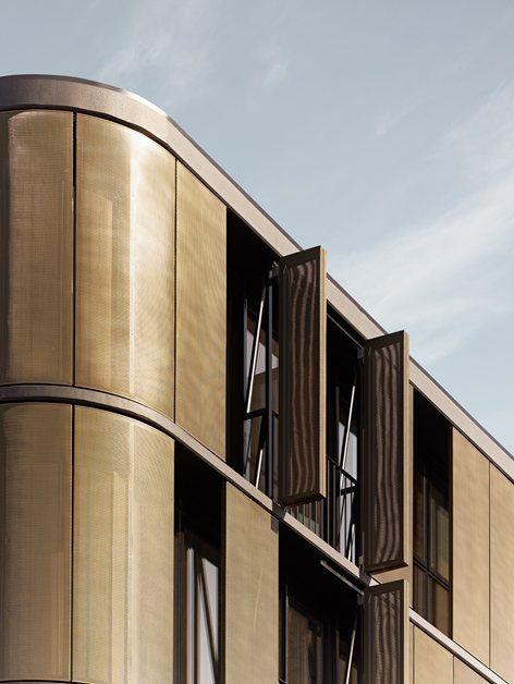 1061_Luna, Melbourne, 2012 - Elenberg Fraser #gold #architecture