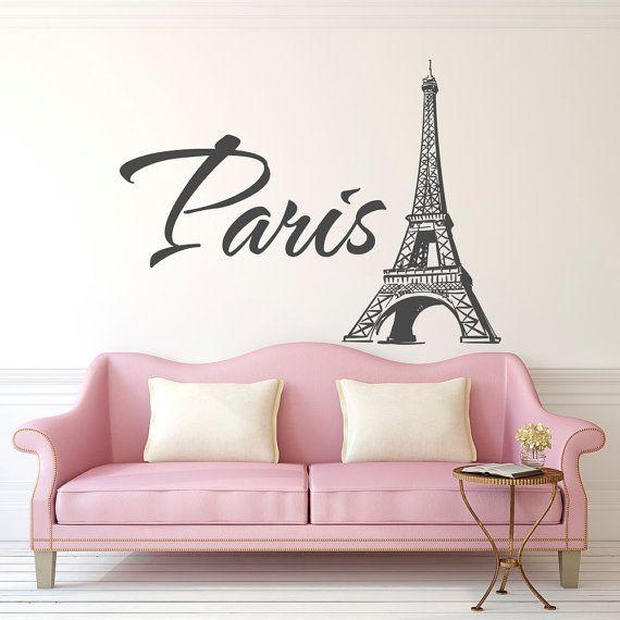 Les Meilleures Idées De La Catégorie Eiffel Tower Wall Decal - Eiffel chambre de la tour des idees de decoration