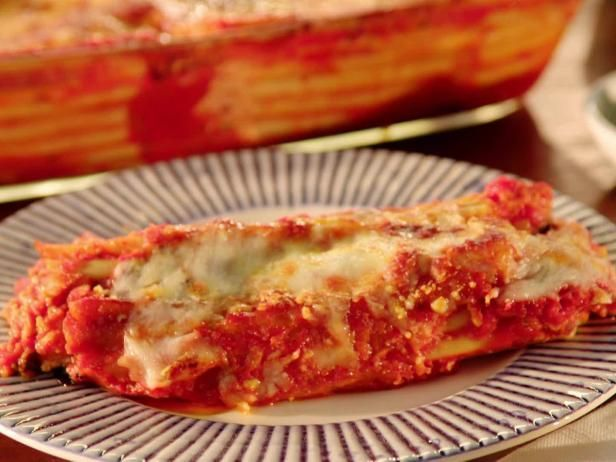 Get Valerie Bertinelli's Manicotti with Italian Sausage Recipe from Food Network