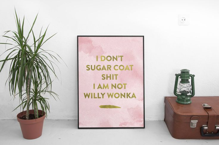 Shop Now: Funny sarcastic quote | faux gold typography | Minimalist Print | Home decor | Digital Quotes print | Pink and Gold | Inspirational is available in my shop ✨ https://www.etsy.com/listing/530195165/funny-sarcastic-quote-faux-gold?utm_campaign=crowdfire&utm_content=crowdfire&utm_medium=social&utm_source=pinterest