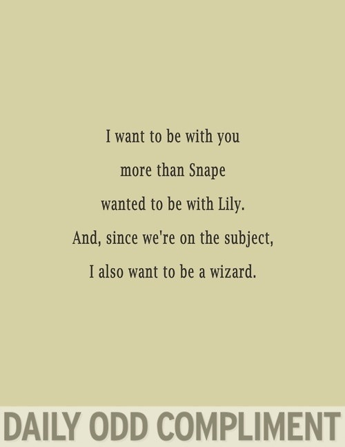 Snape and Lily   Quote...