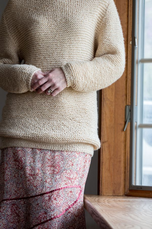 HEAVENLY COMFORTS : Sweater Knitting Pattern – Brome Fields