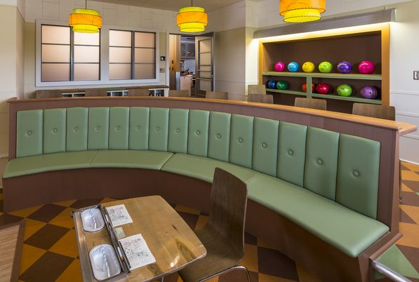 17 Best Images About Home Bowling Alley Seating