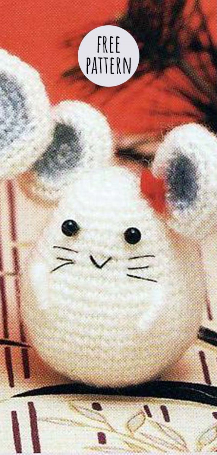 Mr. and Mrs. Amigurumi Mouse Free Pattern | muñecos | Pinterest ...