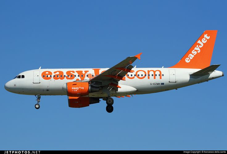 Airbus A319-111, easyJet, G-EZMH, cn 2053, 156 passengers, first flight 18.9.2003 (easyJet Switzerland), easyJet delivered 24.9.2004. Active, for example 25.9.2016 flight Inverness - London. Foto: Pisa, Italy, 18.7.2016.