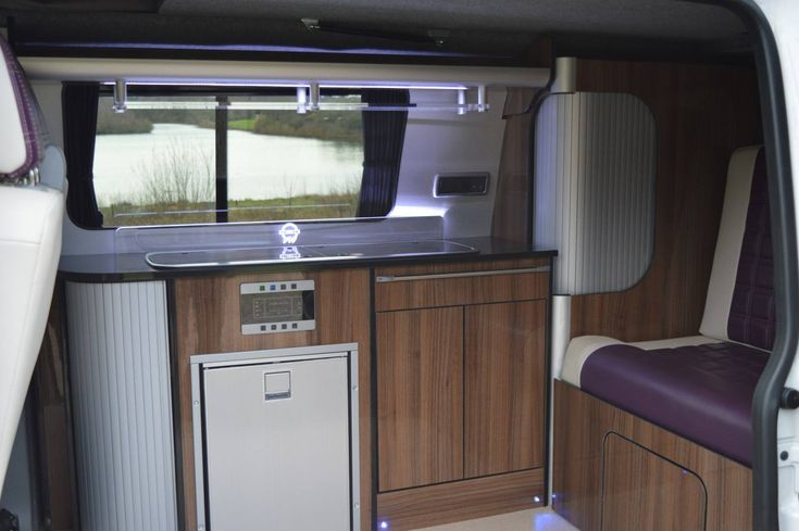 #campervan #VW #TDI #Conversions #T6 #lowered #vwlowered #upholstery #twotone #camper #transporter #kitchen