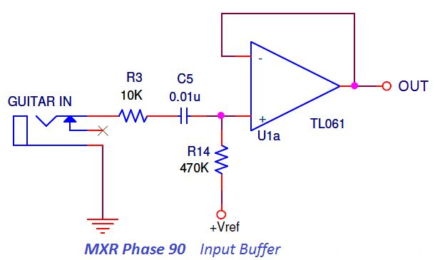 Input #BufferAmplifier Circuit  is one that provides electrical impedance transformation from one circuit to another.