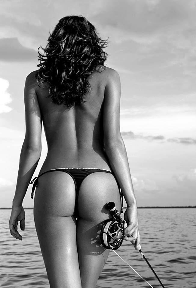 hot fly fishing chicks nake