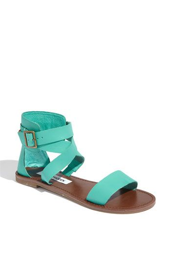 "@Michelle Adams.....Steve Madden ""Bethanyy"" sandals!!  IDK how you feel about the gladiator look, but I think these might be made for your feet and my wedding! LOL"