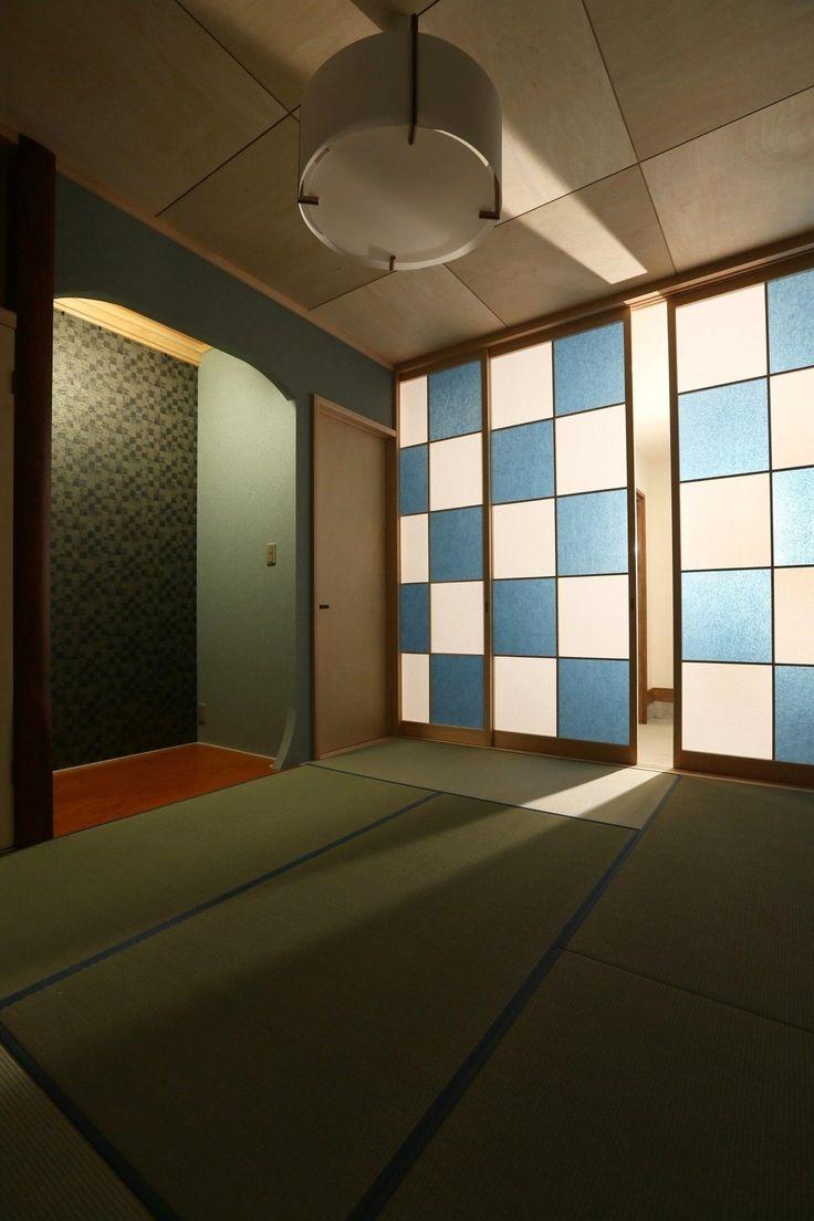 専門家:+ReMo(リモ)建築設計事務所が手掛けた、和モダンな和室(K's residence)の詳細ページ。新築戸建、リフォーム、リノベーションの事例多数、SUVACO(スバコ)