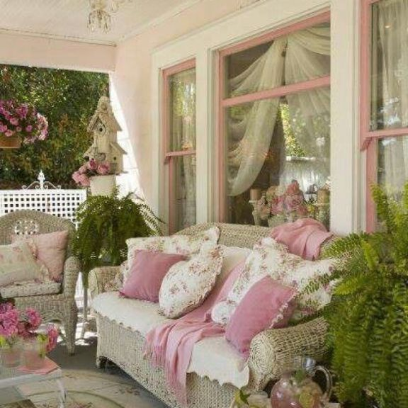 Landscape Ideas For Your Home Porche Shabby Chic