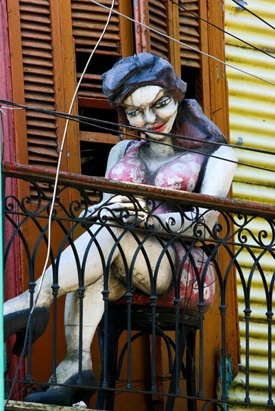 Caminito, Buenos Aires  by Aimee Loperena, via Flickr