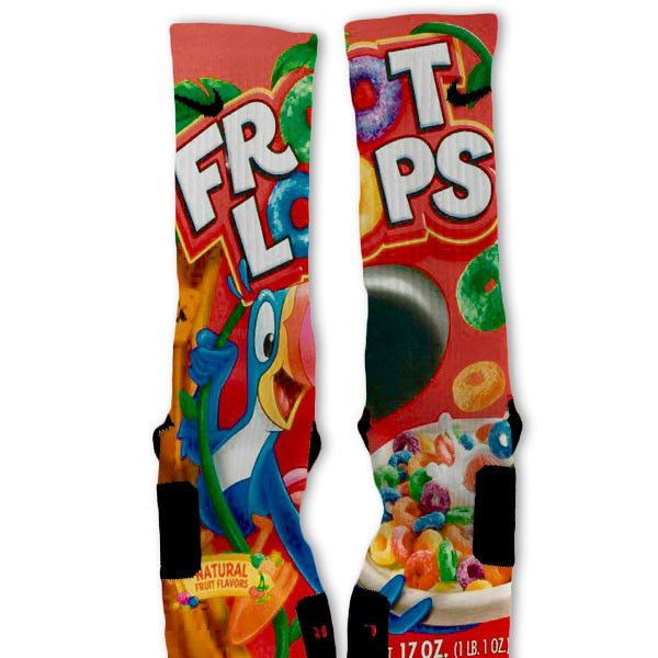 Fruit Loops Customized Nike Elite Socks – Fresh Elites