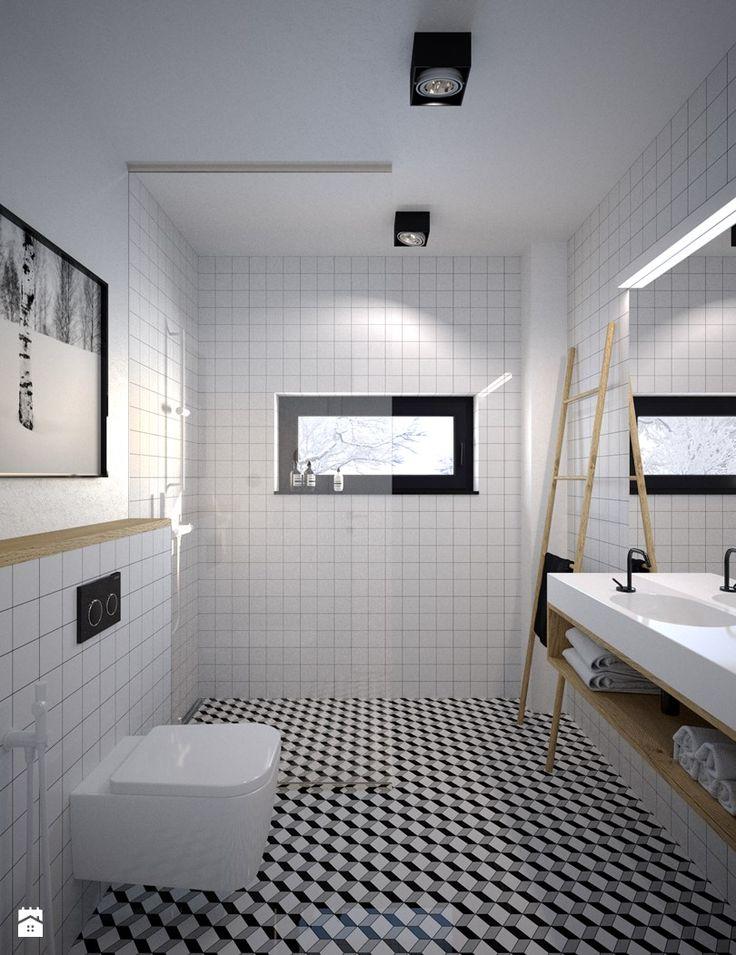 łazienka na parterze - zdjęcie od mootif_studio - Łazienka - Styl Skandynawski - mootif_studio