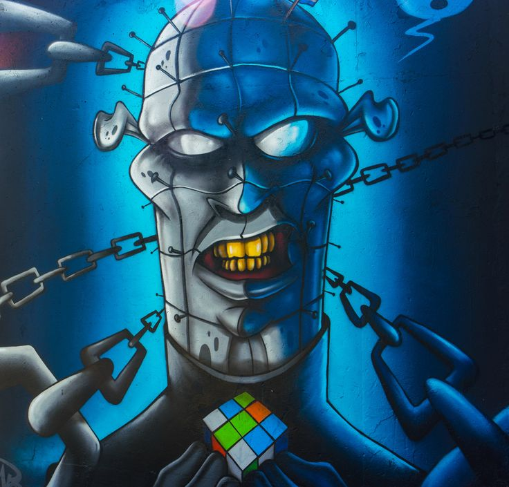 Pinhead #Graffiti