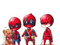 deadpool spiderman animated GIF