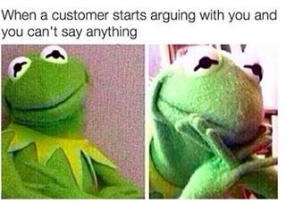When you can't believe how much bullshit you have to take every day: | 25 Pictures That Will Make Call Centre Workers Laugh Harder Than They...