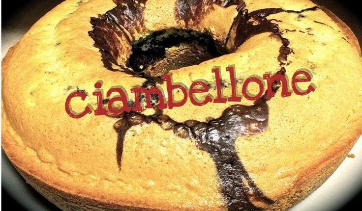 Ricetta facile e veloce per il ciambellone bicolore senza latte e senza burro. Un dolce con pochi ingredienti da preparare in pochissimo tempo!