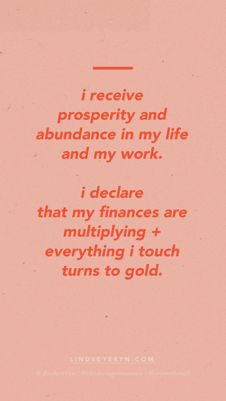 POSITIVE AFFIRMATIONS by Lindsey Eryn of The Daring Romantics Podcast and Third Story Apartment. (IG: @lindseyeryn / @thedaringromantics)  __  positive affirmations, positive words to live by, quotes to live by, positive speaking, affirmations on prosperity, affirmations on abundance, affirmations on finances, affirmations on money, daily meditations, meditations for beginners, meditations on money, meditations for entrepreneurs, meditations for women, affirmations for small business owners