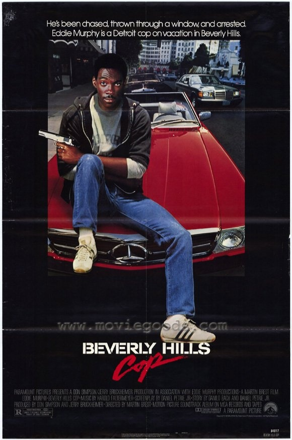 "Beverly Hills Cop (1984) - ""I don't think cost is the issue here, sir. I think the issue should be my blatant disregard for proper procedure."""