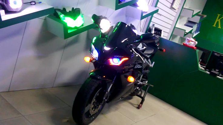 Honda CBR600RR 2007-2012 Optical Fiber LED HID Headlight Assembly,Honda CBR600RR upgrade,