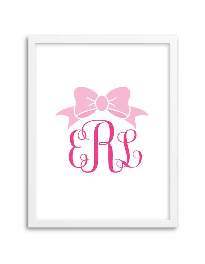 free-printable-monogram-generator-bow-hot-pink-light-pink-2