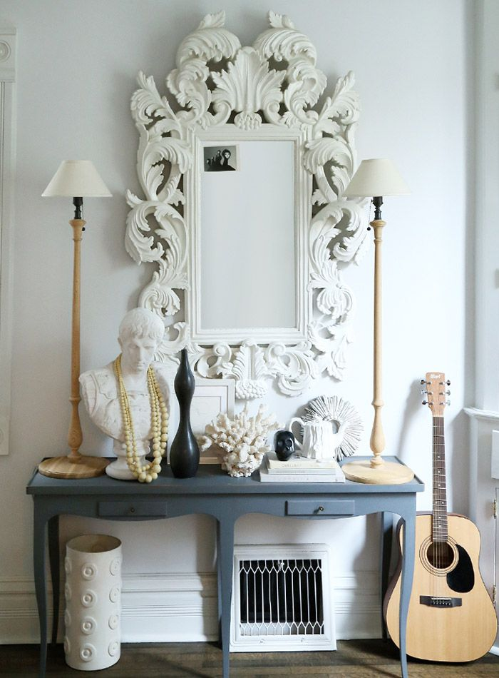 "Today we take a deep dive into mirrors in interior design. ""A mirror's face is essentially a blank canvas..."""