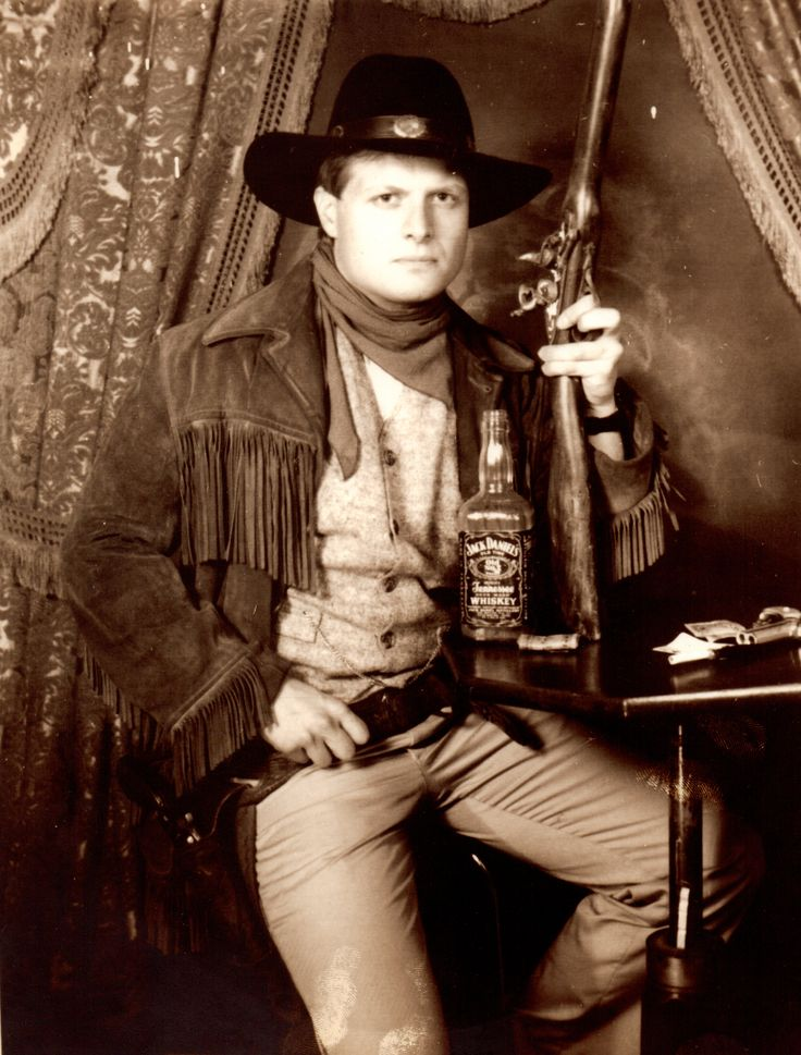 Me as Marty McFly in the Old West.