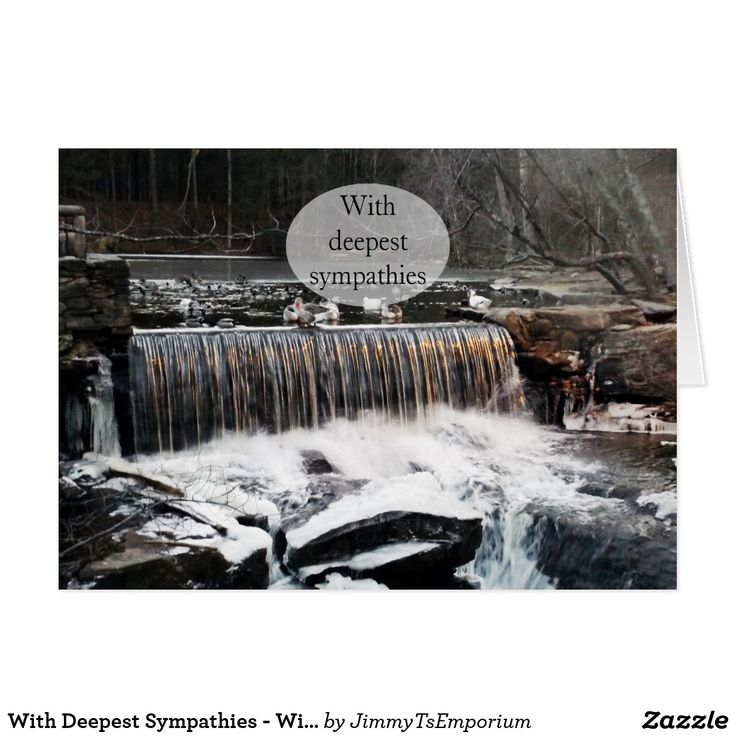 With Deepest Sympathies - Will Be Missed - Want to see more great items for sale?  Visit my store: Jimmy T's Emporium!   (https://www.zazzle.com/jimmytsemporium   - Enjoy!)