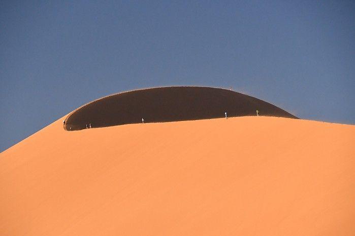 Dune 45 at Sossusvlei #Namibia #NamibSandSea