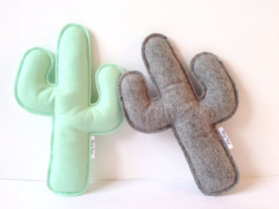 Super cute cactus pillows! Part of the 'Little Adventurer' collection! Receive 20% of by subscribing to this email list: http://eepurl.com/bYlj5n