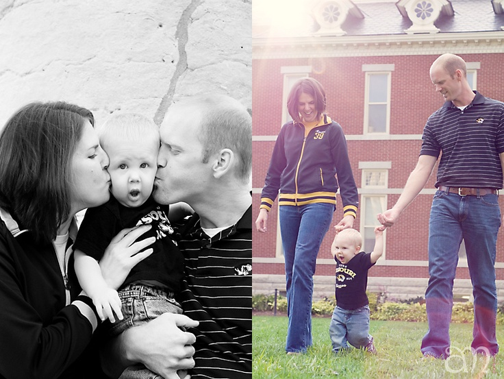 Kate + Clay + Dan :: family portraits :: Columbia, Missouri