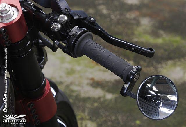 "Racing Cafè: Yamaha MT-01 ""Black Bull"" by Boso San Motorradtechnik"
