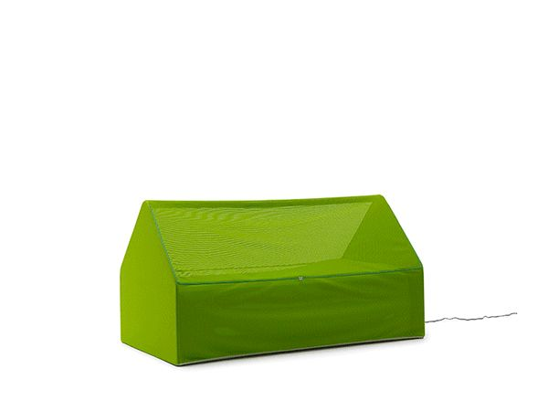 No guest room? No problem, even if you don't have a comfortable couch. A single overnight guest gets a cozy place to rest her head, plus a little privacy, with this inflatable item that's half bed, half tent. The Ca.Mia by Denis Santachiara takes mere seconds to deploy from a compact black t ...