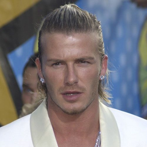 Best David Beckham Long Hair Ideas