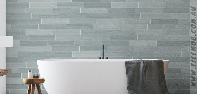 Eucalypt Matt Timber Look Stanza Opus 80x400mm The Tile Mob Timber Bathroom Design Building A House