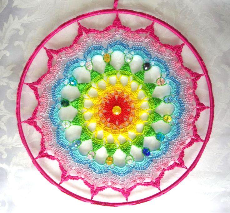CROCHET MANDALA www.ilcuoredellecose.com