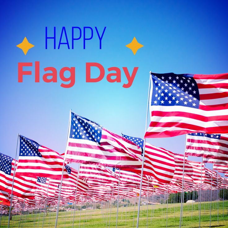 Happy Flag Day to all!